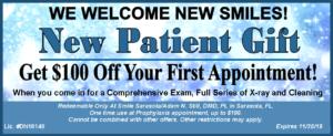New Patient Coupon November 2019