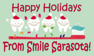happy holidays smile sarasota!