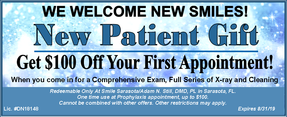 Smile Sarasota Coupon August 2019